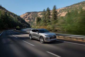 A silver 2019 Chevrolet Blazer - Sherman Chevrolet in Sherman, TX