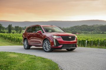 A red 2020 Cadillac XT6 - Sherman Cadillac in Sherman, TX
