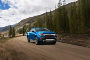 A blue 2021 Chevrolet Colorado - Sherman Chevrolet in Sherman, Texas